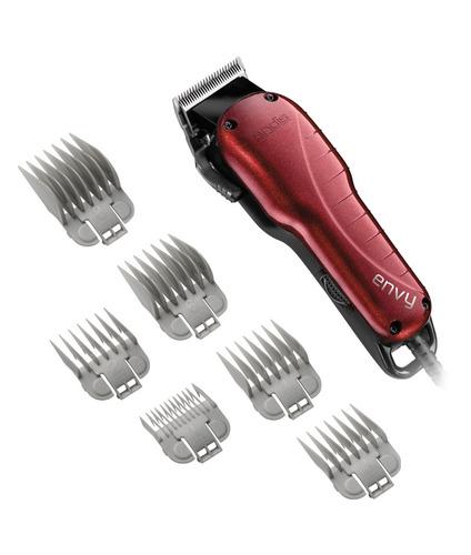 andis envy cortador de cabello profecional con 6 peines
