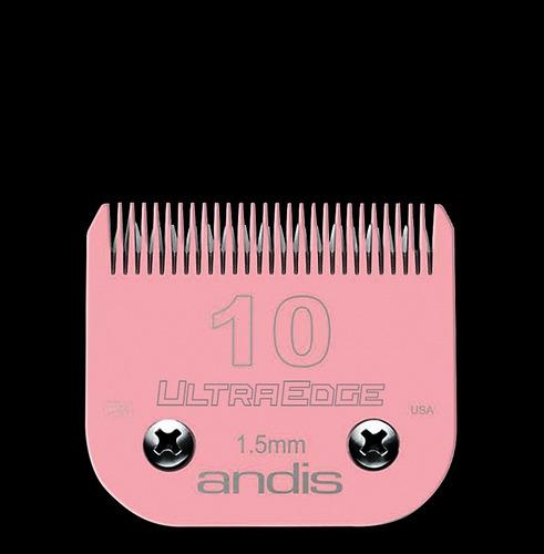 andis hojilla n° 10 rosada electro glide original, 1.5 mm
