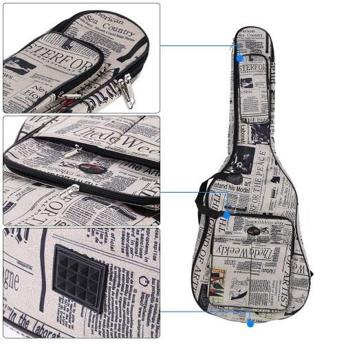 andoer 600d water-resistant oxford cloth newspaper style