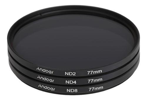 andoer 77 milímetros fader nd filtro kit fotografia filtro