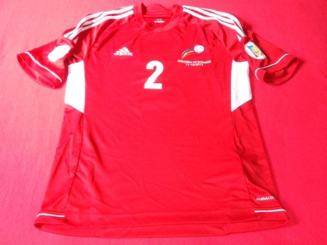 2c67e21ddb322 Andorra Seleccion Jersey Futbol Soccer Eliminatorias 2014 ...