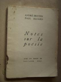 André Bretonpéluardnotes Sur La Poésie1aed1936dalí
