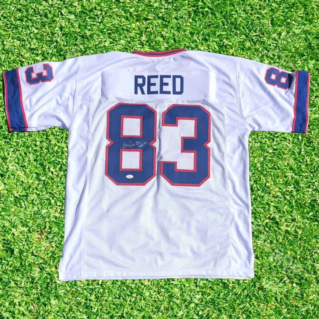 reputable site e25ad b8441 Andre Reed Jersey Firmado Certificado Jsa Whiteness