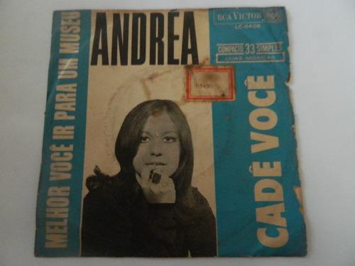 andrea 1968 melhor você ir para o museu - compacto /ep 22.02
