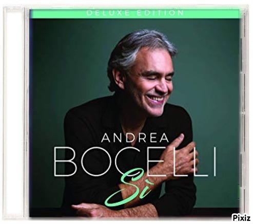 andrea bocelli - cd album sí (2018) - completo - original