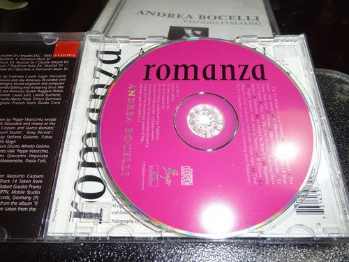 andrea bocelli romanza cd original