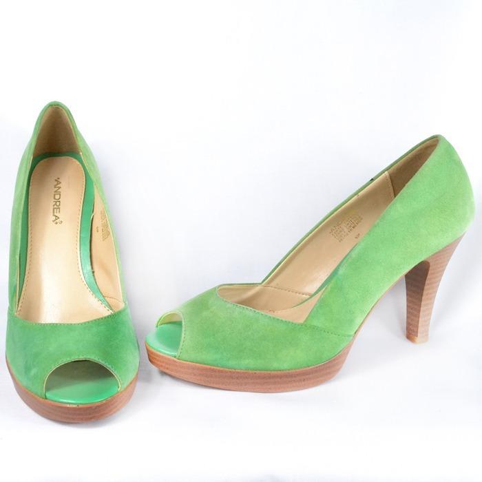 baratas para descuento d890c 50013 Andrea Tacones Verdes 4 1/2 Mexmsrp 850 - $ 580.00
