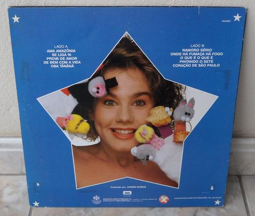 andréa veiga-lp 1990-rge-xuxa discos(colecionador-mg)
