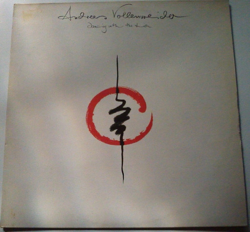 andreas vollenweider - dancing whith the lions - lp/ vinil