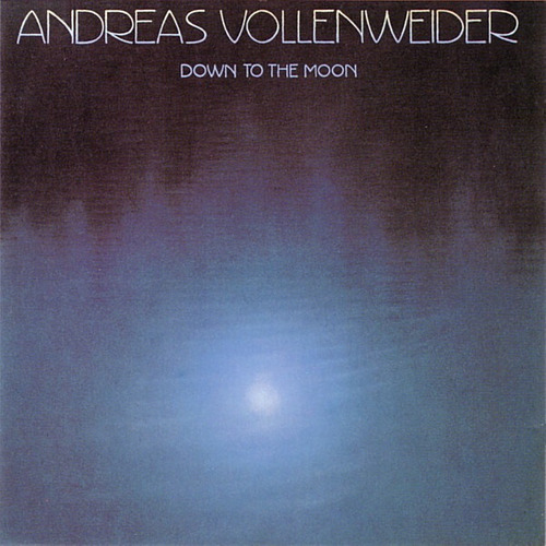 andreas vollenweider   lp down to the moon  1986