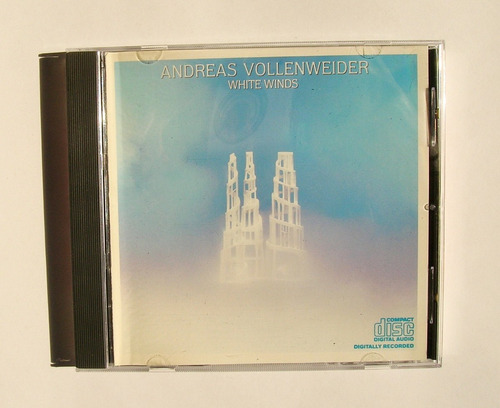 andreas vollenweider white winds cd importado 1984