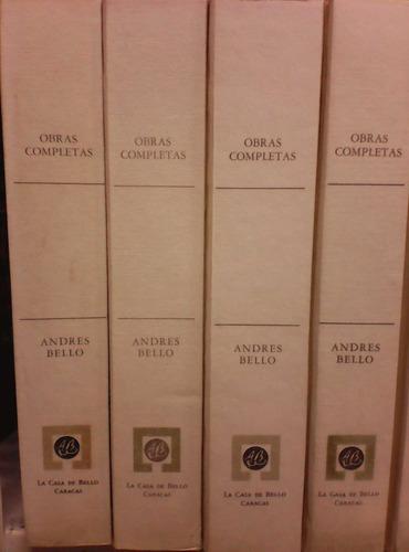 andres bello obras completas 26 tomos