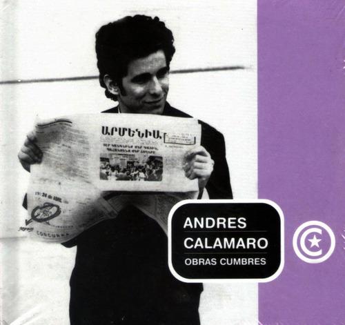 andres calamaro -  obras cumbres - cd + libro - la nacion