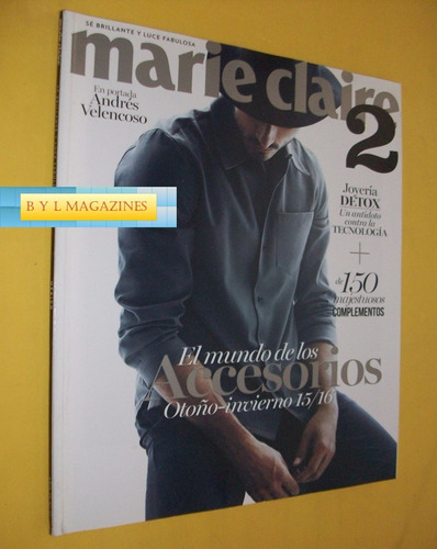 andres velencoso revista marie claire portada 2
