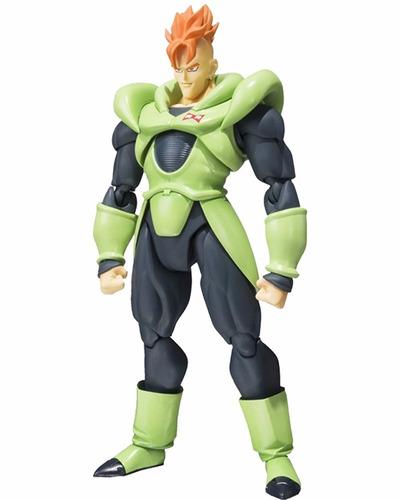 android 16 sh figuarts dragon ball z figura boneco bandai