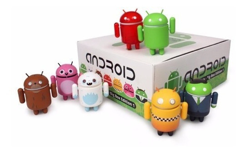 android 7 figuras coleccionables de vinil big box edition