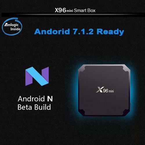 android 7.1 convierte en smart tv box x96 1gb ram 8gb 4k