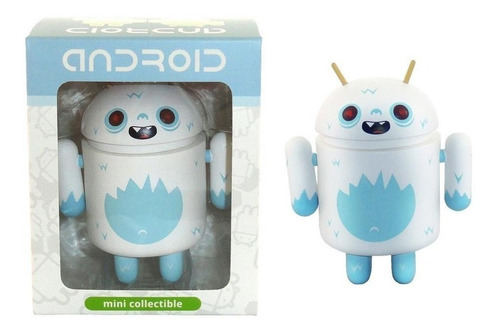 android blanco yeti figura coleccionable big box edition