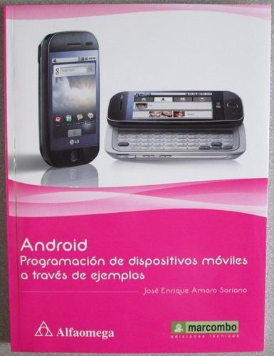 android programación de dispositivos móviles - alfaomega