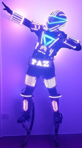 android robot led // 15 años, bodas, todo tipo de eventos.