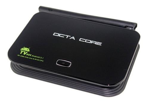 android smart tv box  conversor wifi  16gb octa core