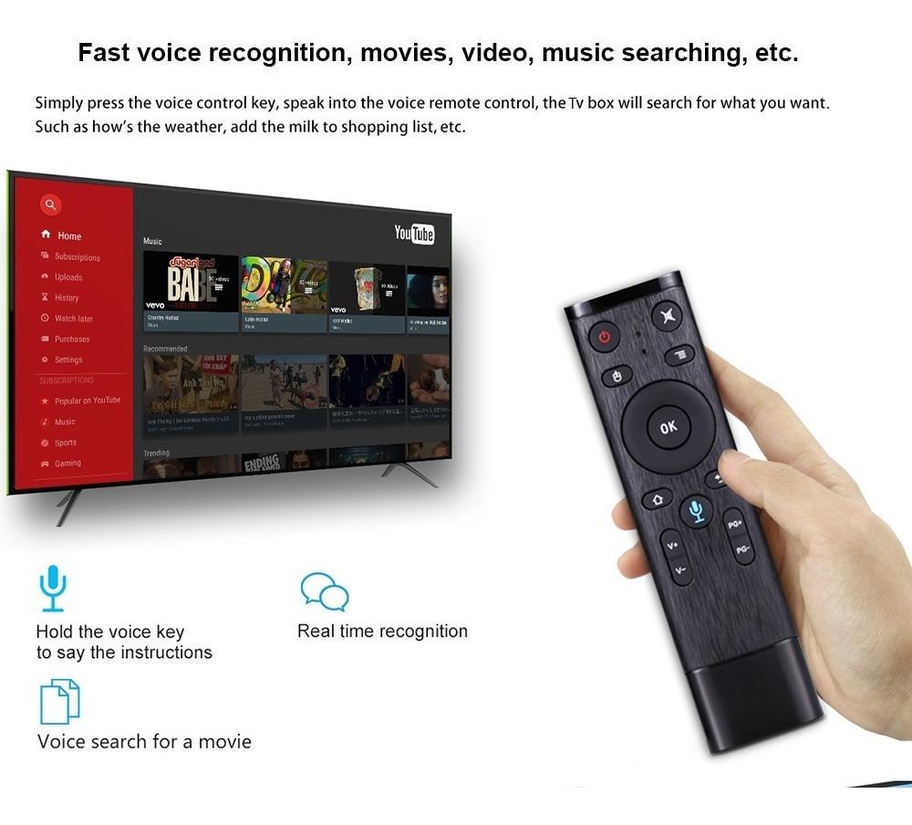 Android Tv Box 4gb Ram 32gb Rom Rockchip 3328 2 4g Wifi Usb3