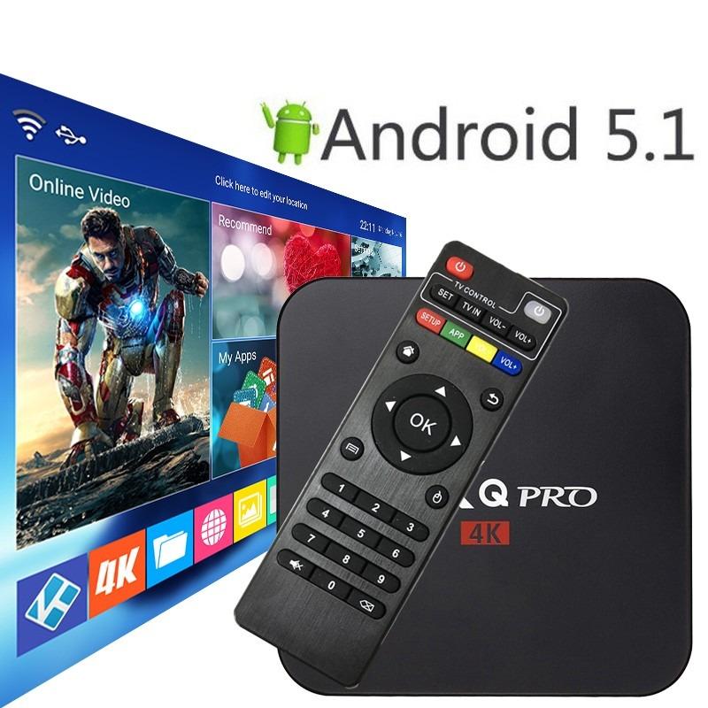 Android Tv Box Android 5 1 Ultrahd 4k Iptv, Netflix, Kodi
