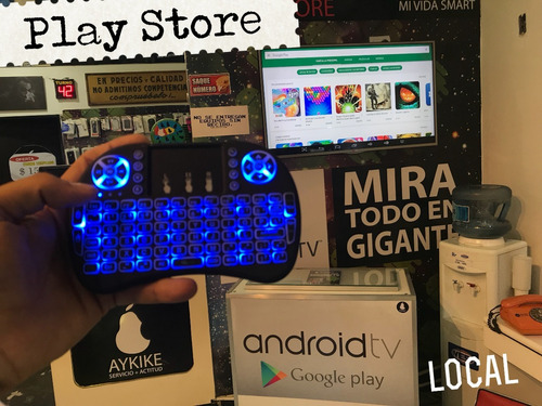 android tv box converti tv android 4k full hd 1 año garantia - youtube/ netflix / play store y mucho mas !! local