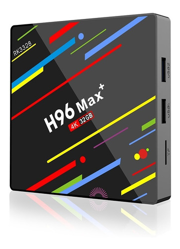 android tv box h96 max 4gb ram + 32gb rom