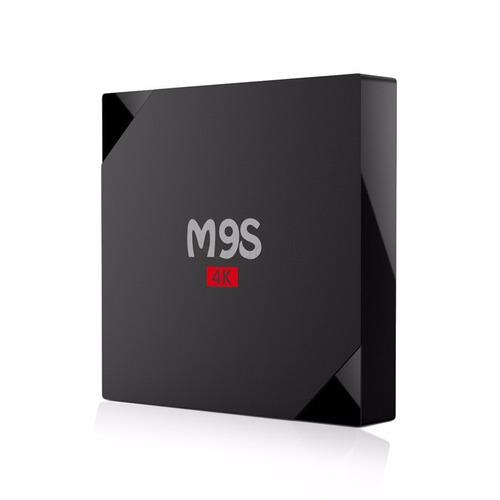 android tv box m9s 4 núcleos 1gb/8gb 4k - envío gratis