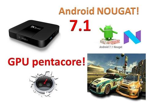 android tv box smart tv super rapido y economico