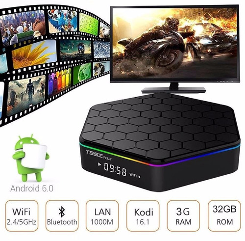 android tv box t95z plus 4k octa core 3gb ram 32gb android 7