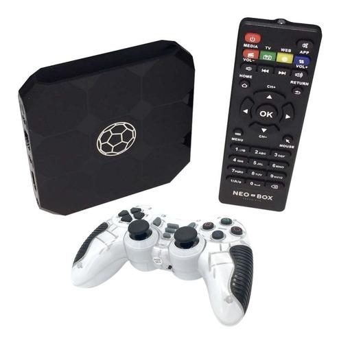 android tv cine + juegos + joystick + envio. el mejor tvbox!