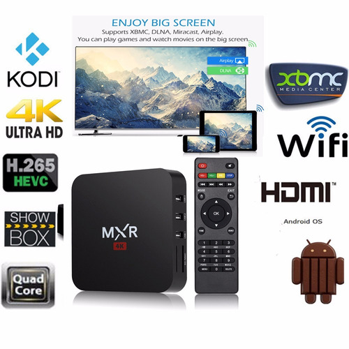 android tvbox hdmi 4k convierte tu tv en smart tv!
