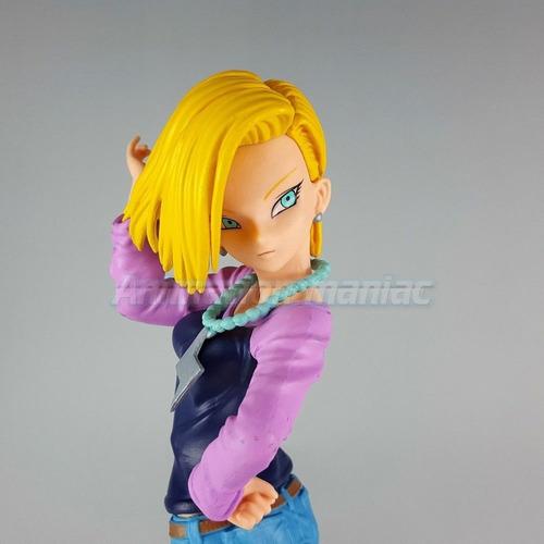 androide 18 banpresto scultures zokei tenkaichi dragon ball
