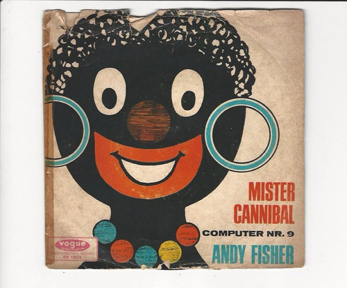 andy fisher - 1966 - mr. cannibal - compacto - ep 77