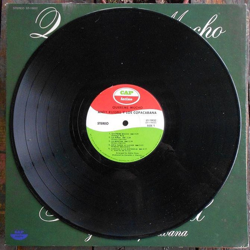 andy russell quiereme mucho lp vinilo usa