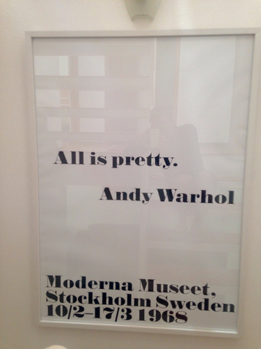 andy warhol - all is pretty