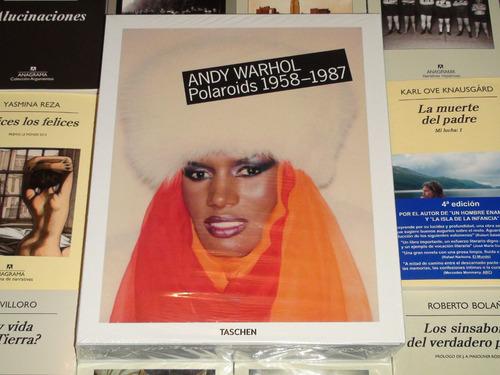 andy warhol - polaroids 1958-1987 - taschen