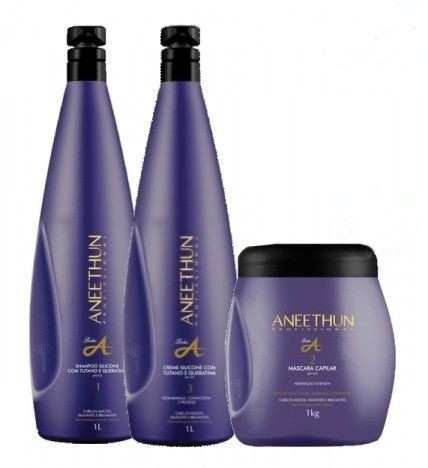 aneethun linha a -  kit hidratação imediata (3 produtos) l