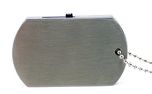 aneew metal pendrive 32 gb de disco u dog tag collar usb fl