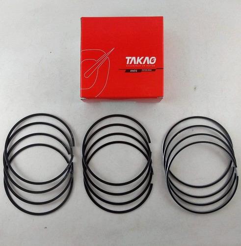 aneis de pistão 1,00 hilux 3.0 16v turbo 2005/2012 1kd