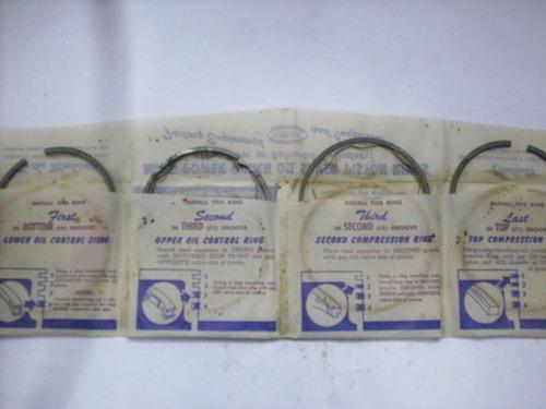 anéis de pistão - chrysler -  v 8 -  anos 50 - mopar