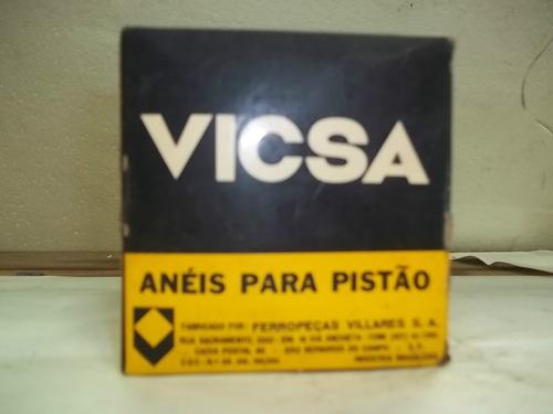 anéis de pistão massey fergusson - 0,30 - vicsa