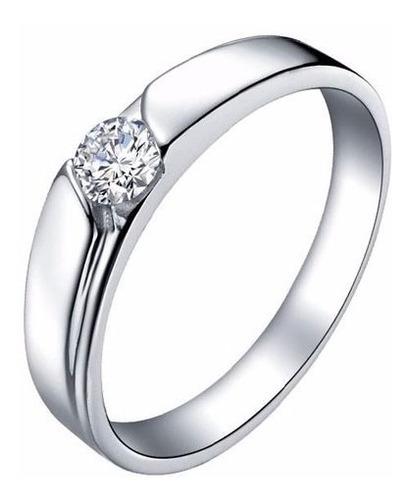 anéis de prata casal anel de casamento com strass