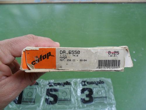 anéis de seguimento 0.25 da xl 250 r, peça nova com garantia