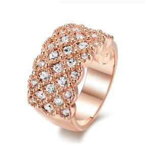 e5b9027d1a0c8 Anel Solitario De Coração Prata Cristal Swarovski - Anéis com o ...