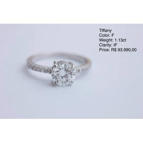 0d04de378ed38 Anel Solitario Tiffany - Anéis com o melhor preço no Mercado Livre ...