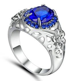 e89b0875732a2 Aneis Ouro Branco Com Diamantes Modelo Flor - Anéis com o melhor ...
