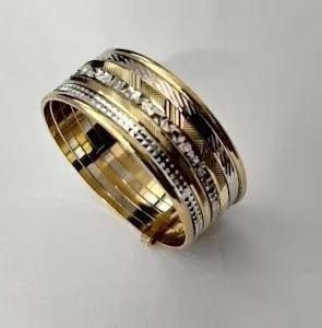 anel 7 felicidade au18k 14.0096.4.000